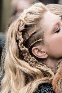 Faux hawk with braid