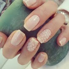 Pearlescent French Tip