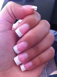 squared nail tip