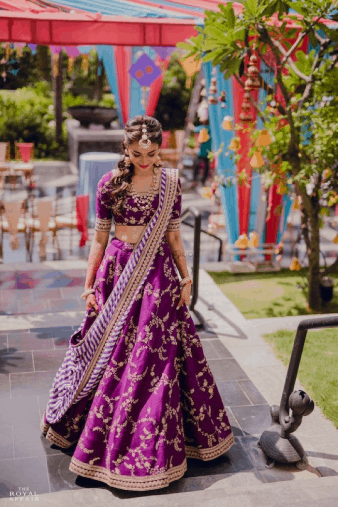 Sabyasachi Aubergine – The perfect shade
