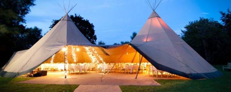 4 Reasons you should consider a Tipi Wedding trending